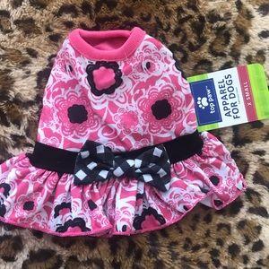 Pink and Plaid Dog Dress